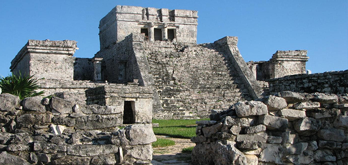 Archaeological Maya ruins